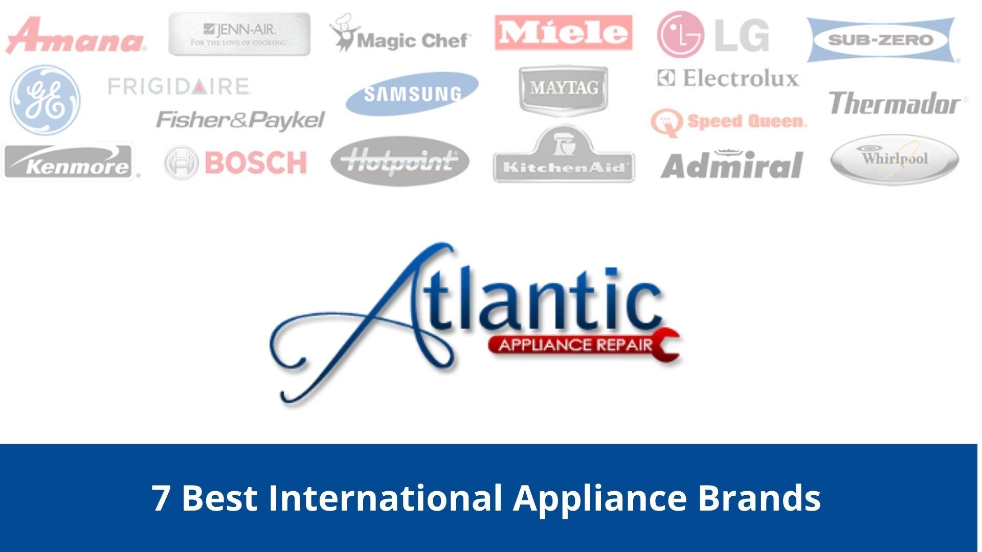 International appliance brands